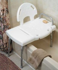 Medical shower chair bathtub bench bath seat adjustable legs back - 1000 Images About Tub Transfer Bench On Pinterest