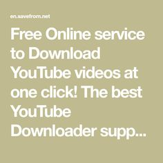 Free Online service to Download YouTube videos at one click! The best YouTube Downloader supporting fast and easy vimeo, Facebook and Dailymotion video Download and much more! Video Search Engine, Free Hd Movies Online, Love Status Whatsapp, Hacker Wallpaper, Video Editing Apps, Facebook Support, Best Horror Movies, Watch Cartoons, Download Video