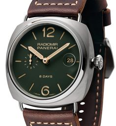 Panerai Green Dial Limited Edition PAM735, PAM736, and PAM737 Collection Watches