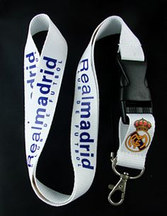 Shop Real Madrid FC Neck Lanyard Keychain Holder Snap Buckle WHITE at BalliGifts.com the # 1 Online Store for Cool Gifts. Free Shipping order $19.99+ USA Real Madrid Football Club, Lanyard Keychain, Cool Gifts, Free Shipping, Personalized Items, Usa, Store, Shopping, Cool Presents