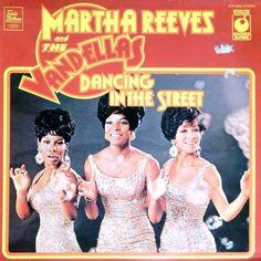 MARTHA REEVES & THE VANDELLAS - Dancing In The Street (Music For Pleasure Sounds Superb SPR 90005) Vinyl   Music