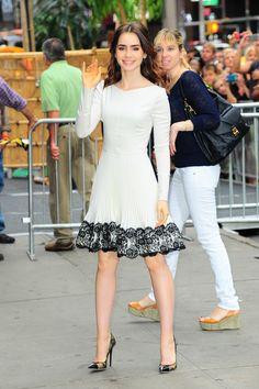 Lily Collins Fashion Transformation | Teen Vogue