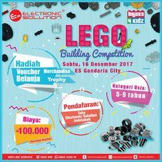 #Lomba #LEGO #Building #Master #Builder #Bricks4Kidz #ElectronicSolution Master Builder Competition 2017 LEGO Building Competition Electronic Solution  LOMBA: 16 Desember 2017  http://infosayembara.com/info-lomba.php?judul=master-builder-competition-2017-lego-building-competition-electronic-solution