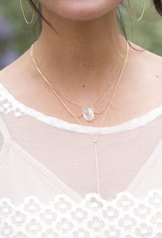 Captured necklace delicate grace dainty jewelry