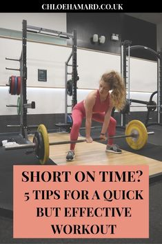 Got less than an hour? Don't think it's not worth going to the gym! Here are 5 tips to turn your short session into a great one. Strength Workout, Strength Training, How To Burn More Calories, Fitness Tips, Fitness Motivation, Walking Challenge, Weight Loss Workout Plan, Going To The Gym, Gym Workouts