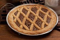 Come fare la torta co' bischeri Waffles, Pie, Breakfast, Desserts, Food, Pasta, Cakes, Cream, Food Cakes