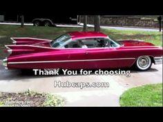 Customer Car Showcase - 1959 Cadillac Coupe Deville Hub Caps - Hubcaps.com