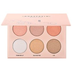 Shop Anastasia Beverly Hills' Nicole Guerriero Glow Kit at Sephora. It has six, metallic powder highlighters for intense luminosity.