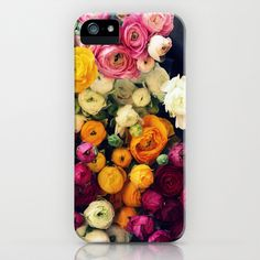Loads of Ranunculus iPhone & iPod Case by Sweet Eventide by Jessica Nichols - $35.00