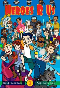 Heroes R Us Vol 1 (9781499765113) — This imaginative new series sets up the kids of a small town for the summer of their lives after the items they buy from the general store grant them super powers. Read our review: http://fwdrv.ws/1qccjTa