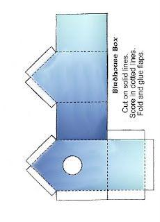 Birdhouse template