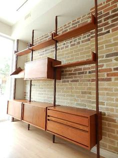 These, I believe, are REFF modular shelves!