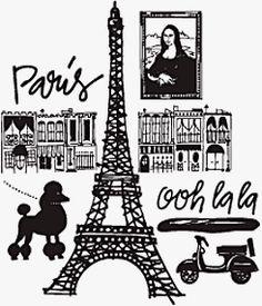 Paris Hodegpodge The Paris Wife, Paris Love, Paris City, Paris Paris, Paris Illustration, Human Soul, Doodle Patterns, Oui Oui, Tour Eiffel