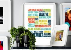 Resolution Inspired Prints & Posters