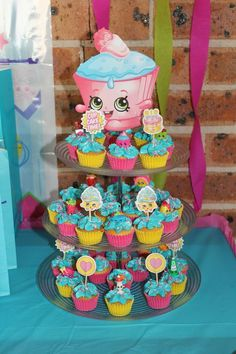 Shopkins Cupcake Tower