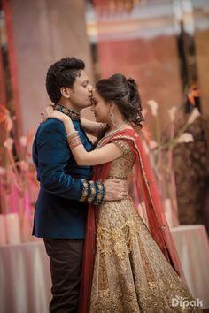 Photographer - Now & Forever! Photos, Hindu Culture, Beige Color pictures, Designer Groom Wear, Bridal Wear images, vendor credits - The Dipak Studios, WeddingPlz