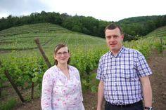 Wine tasting at Dirler-Cadé in Alsace hosted by Ludivine and Jean Dirler. (via Wine Anorak)