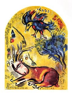 Marc Chagall, CS.21 The Tribe of Naphtali (Twelve Maquettes of Stained Glass