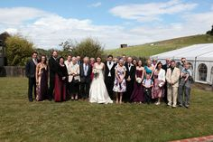 Group and family shot at a small wedding. Summer Wedding, Wedding Day, South East England, The Barnyard, Countryside, Wedding Venues, Wedding Photography, Group, Pi Day Wedding