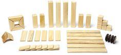 Amazon.com: 42 Piece Tegu Magnetic Wooden Block Set, Sunset: Toys & Games