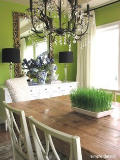 A Show Stopping Dining Room Design Wouldnt Be Complete Without Dramatic Focal Point This Bold Paint Color Mixed With Classy Decor Choices Is The Perfect