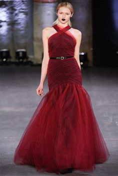 Christian Siriano Fall/Winter 2012 collection.