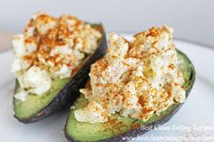 clean eating recipe - chicken avocado recipe #cleaneating #eatclean #healthyrecipe