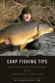 Fishing for carp can be both fun and frustrating. Come check out our Carp Fishing Tips for more information on how to land these behemoths on your next outing. Carp Fishing Tips, Pike Fishing, Fishing Rigs, Best Fishing, Trout Fishing, Fishing Boats, Fly Fishing, Fishing Basics, Fishing Stuff
