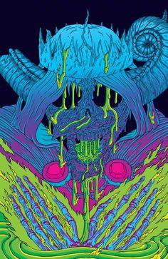 The Lich Adventure Time comic cover