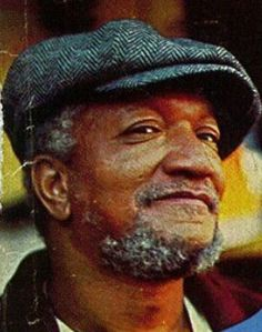 One of the best old-school comedians of all times REDD FOXX. Best known for his TV series Sanford and Son. My favorite classic TV show. Famous Black Americans, Redd Foxx, Sanford And Son, Twisted Humor, Old Tv, Classic Tv, Mothers Love, Funny People, Funny Things