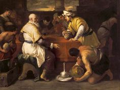 The Athenaeum - The Parable of the Prodigal Son: Receiving His Portion (Luca Giordano - )