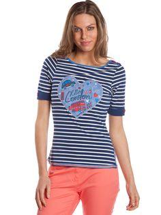 Camiseta Barrios #navylook #navytshirt #estilomarinero #camisetamarinera #rayasmarineras