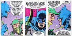 Green Arrow, Batman, Funny