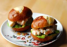 Shrimp and Avocado Sliders