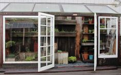 Steal This Look: A Potting Shed Made of Scraps Gardenista