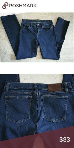 "LRL Ralph Lauren straight leg jeans Excellent condition 98% cotton 2% elastane 30"" inseam Ralph Lauren Jeans Straight Leg"