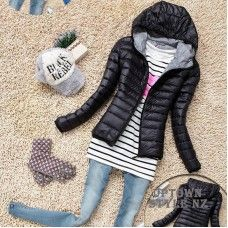 Women's Hooded Winter Jacket