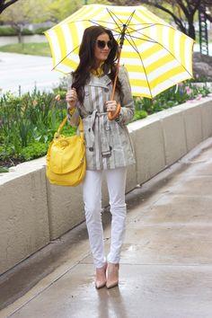 Tie raincoat like that!