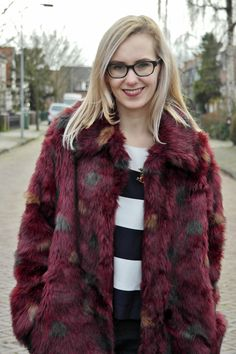 Vintage looks with the Lafont ALLURE.  Outfit from: www.SASHIONBLOG.com - more than just a fashionblog