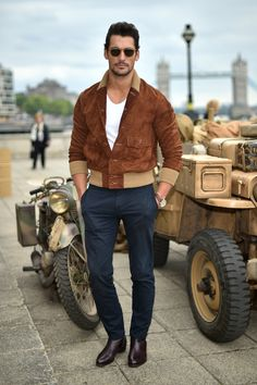 @davidjamesgandy at #Belstaff Men's #SS16 #LCM Presentation | #DesertExplorers…