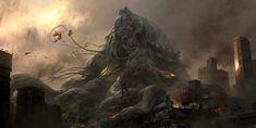 ArtStation - Godzilla III, Xu Tianhua