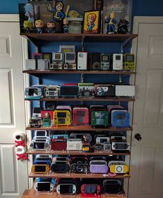 Display is very disorganized right now, but here are most of my handheld babies http://egamephone.com/