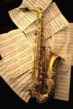 J'ai choisi cette photo, car je joue de la saxophone. J'ai joué de la saxophone pendant longtemps.