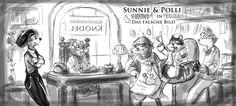 Sunnie & Polli Cover Scribble - Book 2 (2048×922)