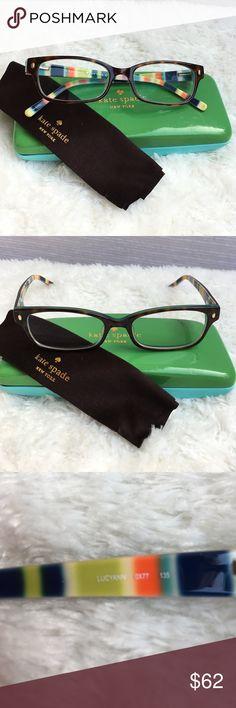 Kate Spade LUCYANN Eyeglasses Retails  190 This gorgeous prescription  eyeglasses is a Kate Spade Lucyann styled 1d728abdf3a7