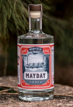 Branding and packaging design for Warfield Distillery & Brewery. Located in the mountains in Idaho's historic ski town, Sun Valley.