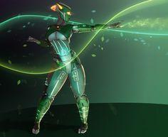 ArtStation - Wind-fly, Leaf-Twister!, Thomas Rule
