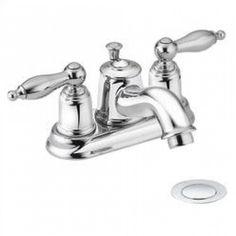 "Moen Castleby 4"" Bathroom Faucet - All Finishes - 4938XXXX"