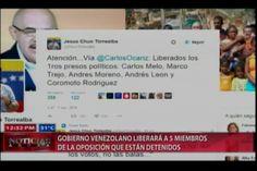 Resumen De Noticias Internacionales: Gob. De Venezuela Libera 5 Representantes del la Oposición, En Colombia Siguen las negociaciones de Paz con el ELN y Más…