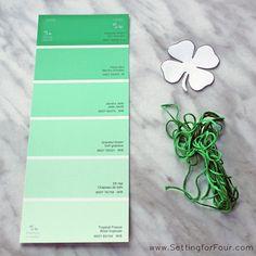 St. Patrick's Day Bookmark